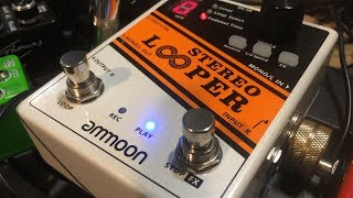 Ammoon Stereo Looper First Look Review