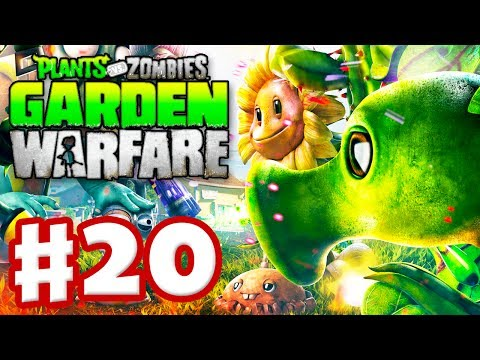 Plants vs. Zombies: Garden Warfare - Gameplay Walkthrough Part 20 - Gardens & Graveyards (Xbox One)