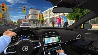 Taxi game 2#2- Bé lái xe taxi đón và chở khách
