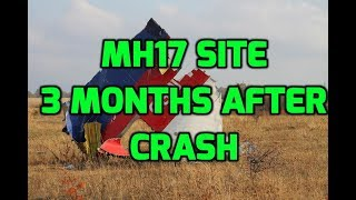 Arriving at MH17 Site - 16.10.14