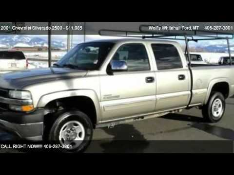 2001 Chevrolet Silverado 2500 Base - for sale in Whitehall, MT 59759