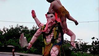 Ganesh Immersion | Hyderabad Vinayaka Nimajjanam | Dhoom Dham Dance | Ganpati Visarjan 2014