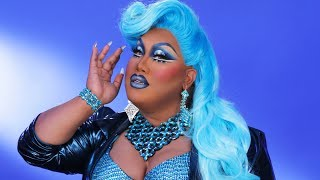 BLUE DRAG QUEEN TRANSFORMATION | PatrickStarrr