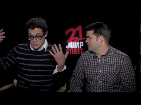 21 Jump Street: Sit Down Interview Phil Lord And Chris Miller [HD]
