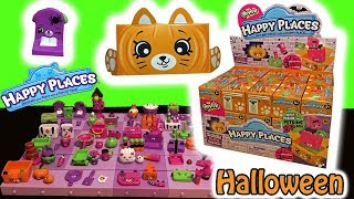 Halloween Happy Places Shopkins Full Case Of 30 Blind Bags Spooky Petkins Decorating Grand Mansion