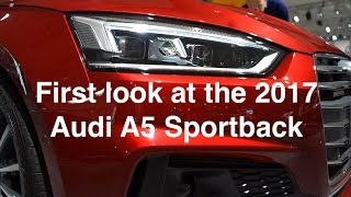 First look at the 2017 Audi A5 Sportback