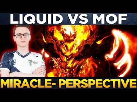 Liquid vs MoF - Player Perspective Miracle- (Shadow Fiend & Bounty) - Dota 2