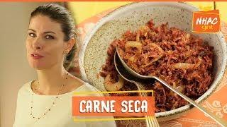Carne seca acebolada   Rita Lobo   Cozinha Prática