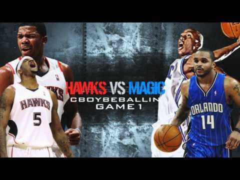 HAWKS vs MAGIC LIVE! 4/16/11