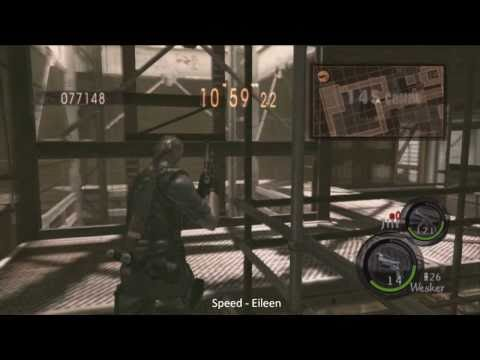 PS3: 961K Duo Missile Area - Eileen @ Office spawn [Mercenaries Resident Evil5]