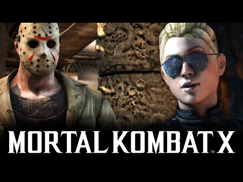 Mortal Kombat X -  Бой с Девушкой! Брейн vs Даша