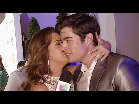 El reencuentro entre Alicia Machado y Danilo Carrera