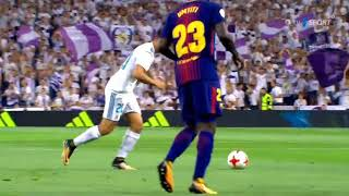 Real Madrid Barcelona Super Cup Asensio first goal HD 16/08/2017