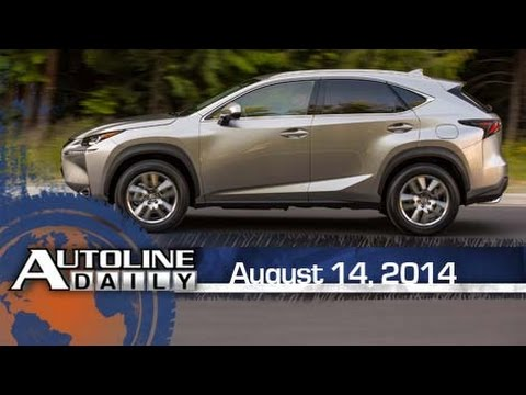 Future of Tire Sensors and 2015 Lexus NX Driving Impressions - Autolin