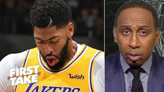 Stephen A. doesn't care about Anthony Davis' 40 points vs. Grizzlies | First Take