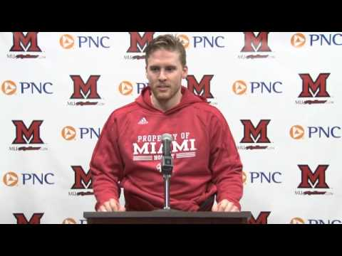 Miami RedHawks Hockey Post Game Press Conference - 3/15/2015