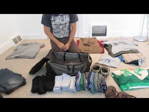 How to pack a suitcase? - Hogyan csomagoljunk okosan egy bőröndbe?