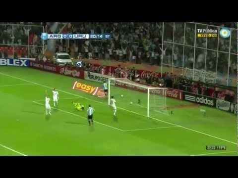 Todos los goles de Messi en Argentina