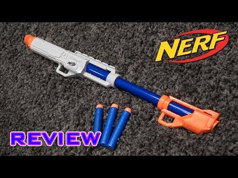 [REVIEW] Nerf Elite Blowdart Blaster   TACTICAL BLOWING!