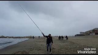 SURFCASTING COLMIC 07  in ground impressionante prestazioni