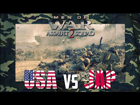 Men of War: Assault Squad 2: GSM XI - Peleliu Beach Assault