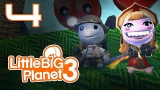 LittleBigPlanet 3 - Прохождение игры на русском - Кооператив [#4] PS4