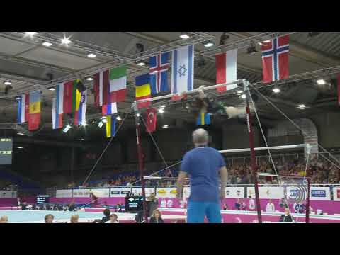European Championships Brussels 2012, Vanessa FERRARI (ITA) Uneven Bars