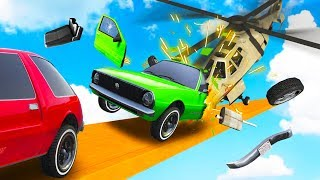 DRIVE FOR YOUR LIFE! - GTA 5 Funny Moments
