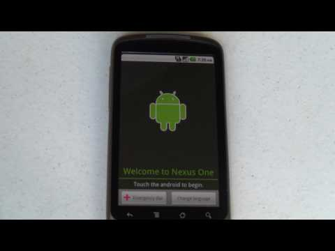 """Android Quick Tip: How to bypass the """"Touch the Android to Begin"""" setup"""