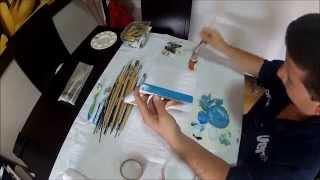 como pintar cuadros en oleo facil y rapido