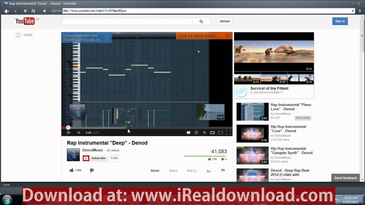 ... video using Realplayer when download button is not working - YouTube