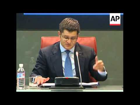 Spanish and Serbian FMs  presser, comment on Somalia