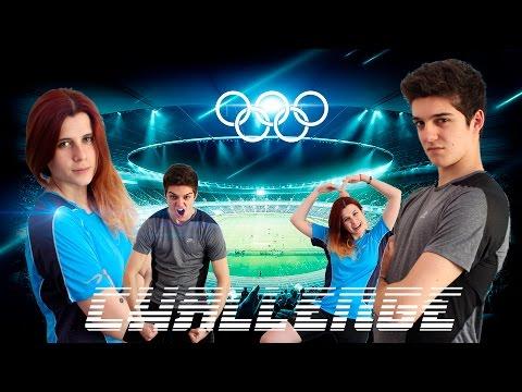 Olimpiadas de los challenge | Yoga Challenge | Asier Olaizola y Umaru-chan