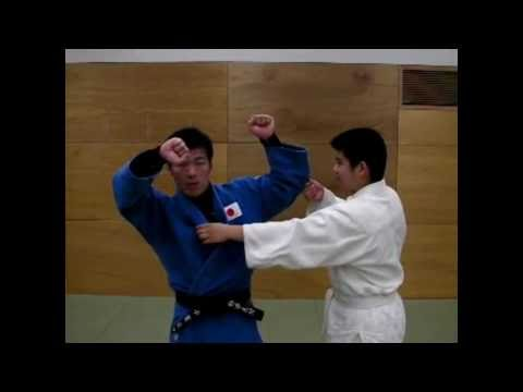 柔道:一足内股の解説 How to one step UCHIMATA Image 1