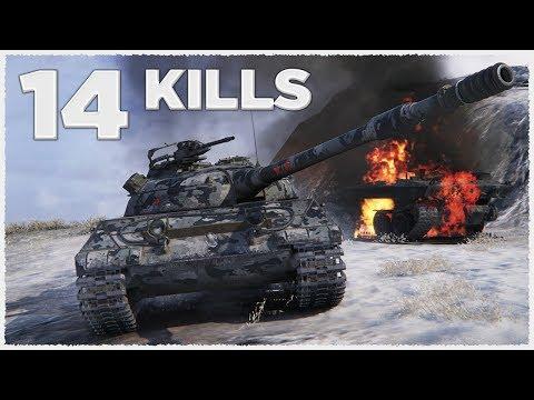 Object 430U • 14 KILLS • Raseiniai Heroes' Medal • WoT Gameplay