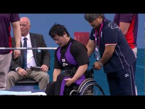 Powerlifting - Men's -75 kg - London 2012 Paralympic Games