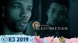 How Man Of Medan Learns From Until Dawn | E3 2019