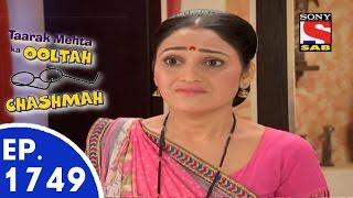 Taarak Mehta Ka Ooltah Chashmah - तारक मेहता - Episode 1749 - 28th August, 2015