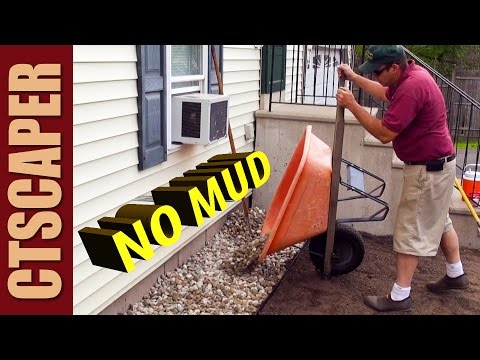 KEEP MUD OFF SIDING - DRIP EDGE