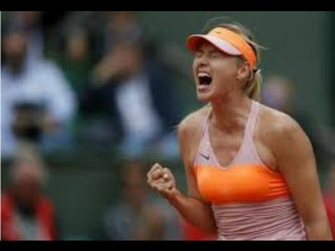 Maria Sharapova vs Garbine Muguruza - 2014 French Open  (Roland Garros Highlights & Review)
