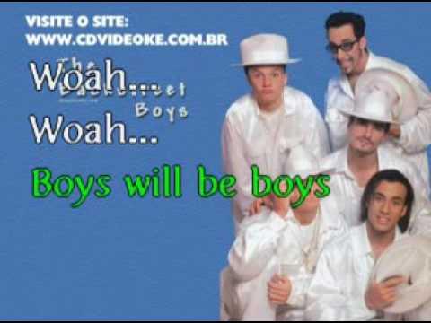 Backstreet Boys, The   Boys Will Be Boys