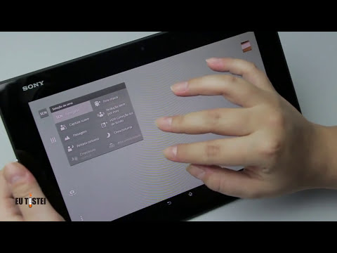 Tablet Sony Xperia Z2 SGP551 - Vídeo Resenha Brasil