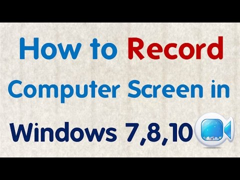 How to Record Your Computer Screen By Free  Screen Recorder in Hindi