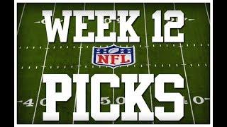 WEEK 12 NFL PICKS!!