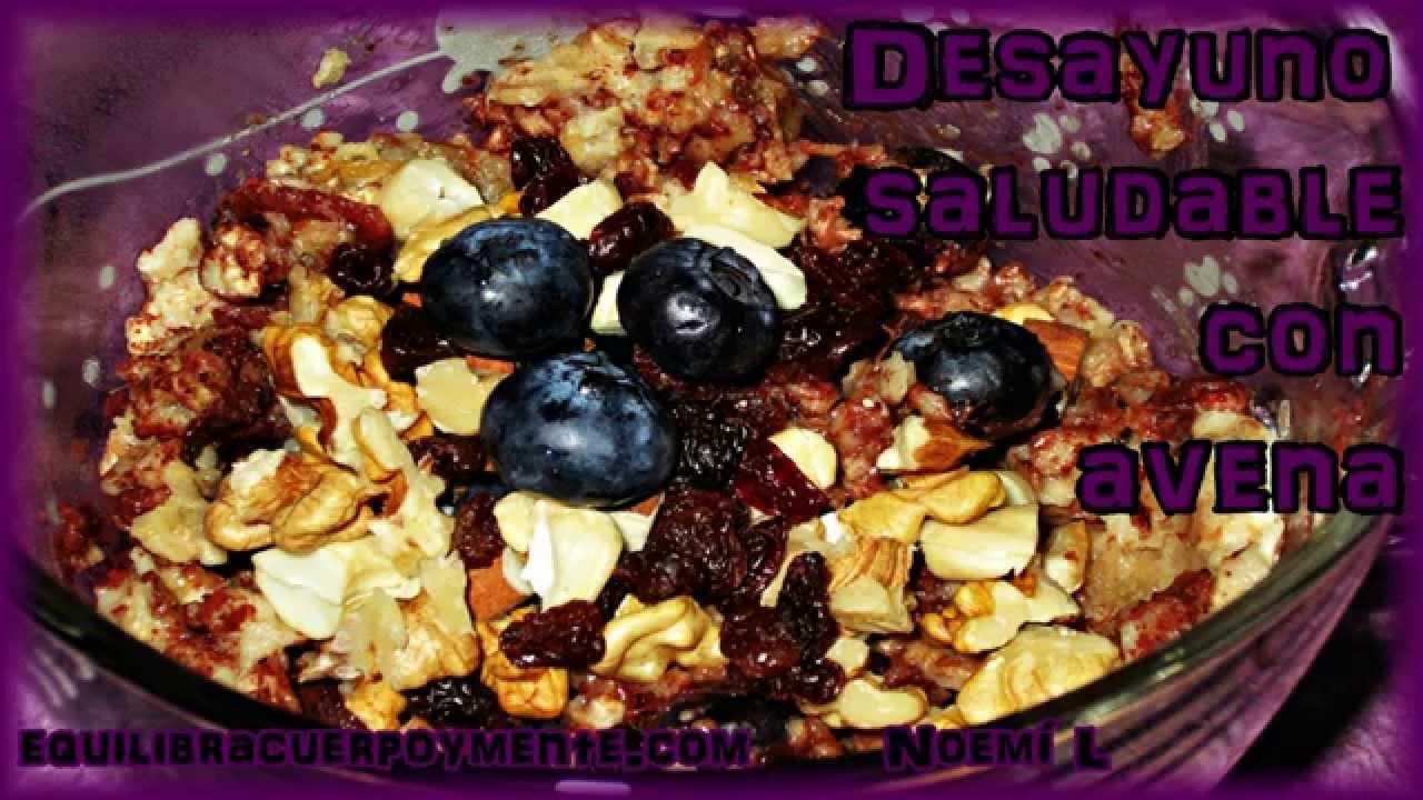 Desayuno Saludable Con Avena Desayuno Saludable Con Avena