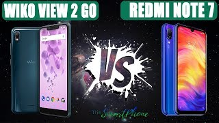 Wiko View 2 GO VS Xiaomi Redmi Note 7 Compare [UNDER $150 mobile phone Choose One to buy]