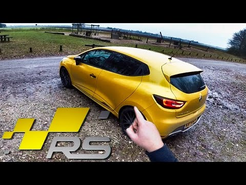 Renault Clio RS 220 Trophy Review POV Test Drive