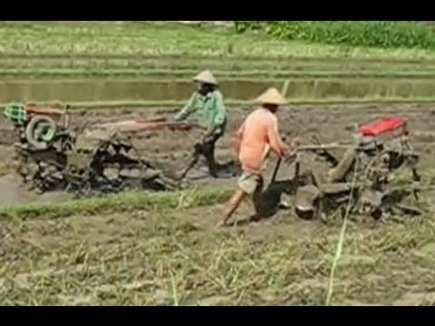 Yanmar Hand Rotary Tractor VS Hand Plow Tractor