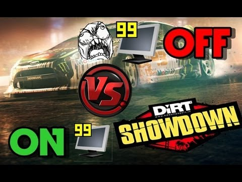 DIRT SHOWDOWN Diferena de FPS Fraps ligado  e desligado
