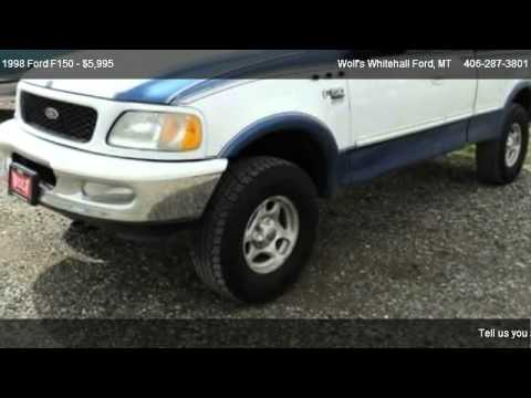 1998 Ford F150 Standard - for sale in Whitehall, MT 59759
